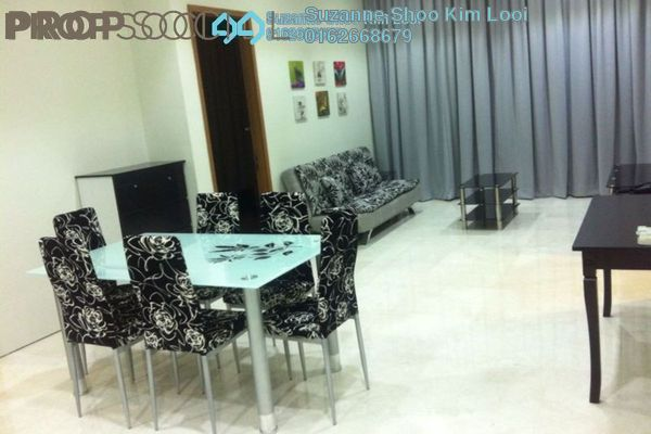 For Sale Condominium at Soho Suites, KLCC Freehold Fully Furnished 2R/1B 1.05m