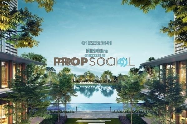 For Sale Condominium at Emerald Hills, Alam Damai Freehold Semi Furnished 2R/2B 500k