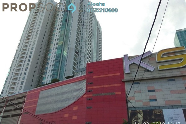 For Sale Apartment at D'Esplanade Residence, Johor Bahru Freehold Unfurnished 0R/0B 790k