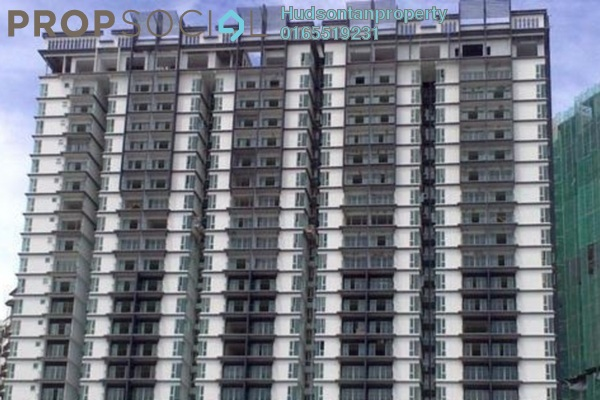 For Sale Condominium at 222 Residency, Setapak Freehold Semi Furnished 3R/2B 470k