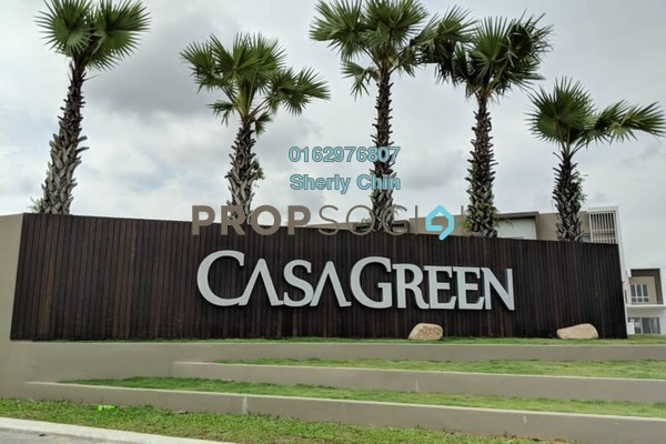 For Sale Link at Casa Green, Cheras South Leasehold Semi Furnished 2R/1B 628k