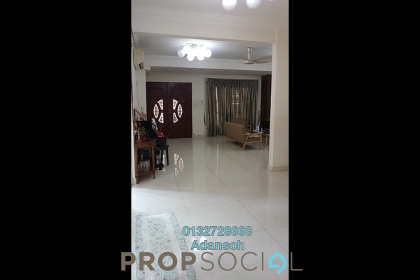 For Sale Terrace at Taman Megah, Kepong Freehold Semi Furnished 4R/4B 1.55m