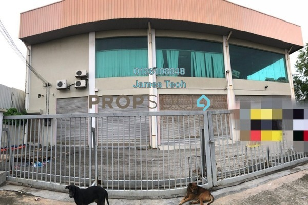 For Rent Factory at Taman Pandamaran Jaya, Port Klang Freehold Semi Furnished 0R/0B 13k