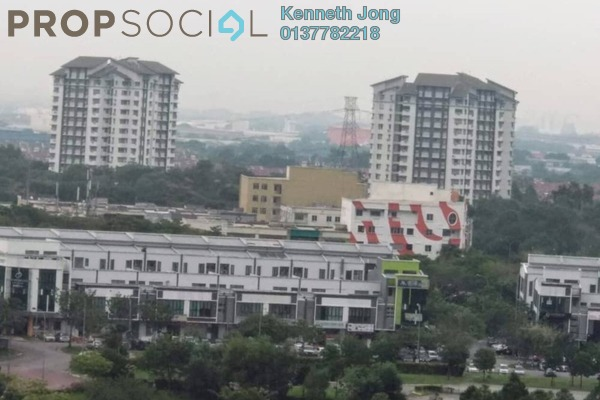 For Rent Condominium at Lagoon Residences, Kota Kemuning Freehold Fully Furnished 2R/2B 1.4k