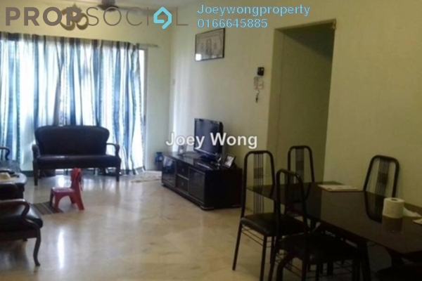 For Sale Apartment at Akasia Apartment, Pusat Bandar Puchong Freehold Semi Furnished 3R/2B 280k