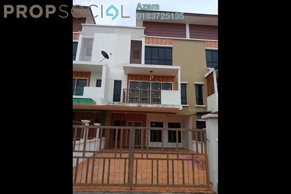 For Sale Terrace at Bukit Saujana, Sungai Buloh Leasehold Semi Furnished 5R/3B 730k