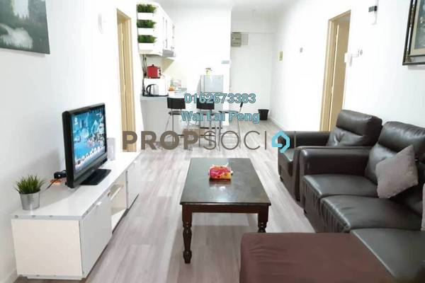 For Rent Condominium at Casa Mutiara, Pudu Freehold Fully Furnished 2R/2B 2.6k
