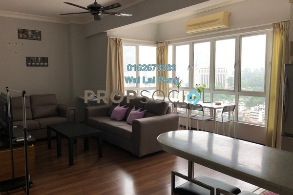 For Rent Serviced Residence at Casa Mutiara, Pudu Freehold Fully Furnished 3R/2B 3k