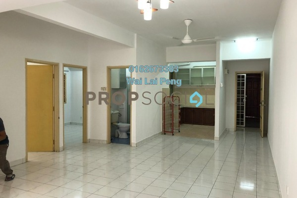 For Rent Apartment at Mawar Apartment, Sentul Freehold Unfurnished 3R/2B 1.4k