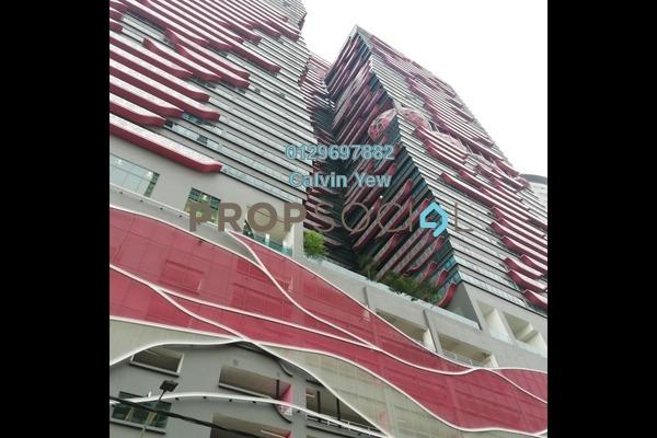 For Sale Serviced Residence at Arte +, Jalan Ampang Freehold Semi Furnished 1R/1B 539k