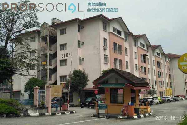 For Sale Apartment at Resak Apartment, Shah Alam Freehold Unfurnished 0R/0B 180k