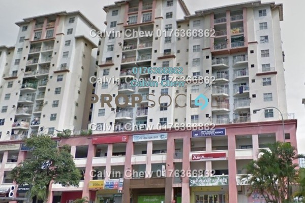 For Sale Apartment at Vista Magna, Kepong Freehold Unfurnished 3R/0B 280k