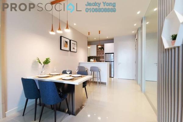 For Sale Apartment at Danau Kota Suite Apartments, Setapak Freehold Unfurnished 3R/2B 604k