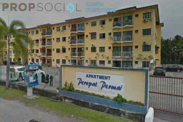 For Sale Apartment at Taman Perepat Indah, Kapar Freehold Unfurnished 0R/0B 168k