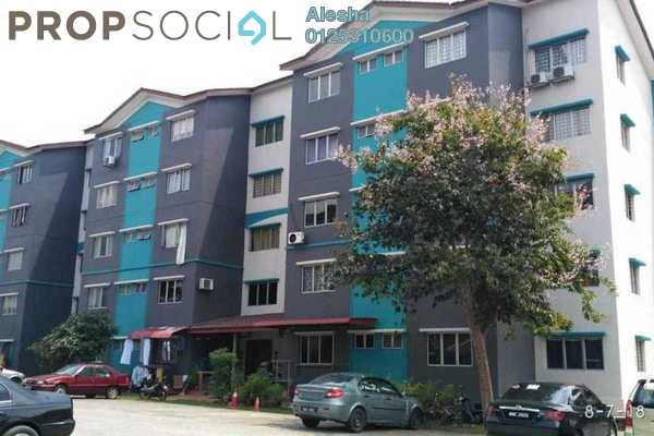 For Sale Apartment at Iris Apartment, Sungai Buloh Freehold Unfurnished 0R/0B 170k