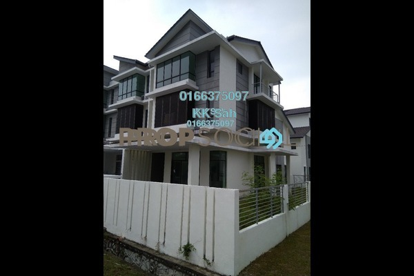 For Sale Superlink at Taman Putra Impiana, Puchong Freehold Unfurnished 5R/5B 1.04m