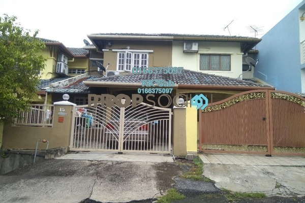 For Sale Terrace at Taman Sri Bahagia, Cheras South Freehold Semi Furnished 4R/3B 488k