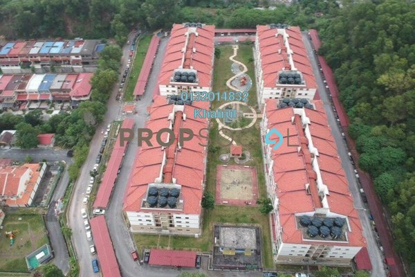 For Sale Apartment at Taman Cheras Intan, Batu 9 Cheras Freehold Semi Furnished 3R/2B 290k