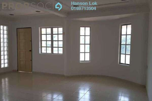 For Sale Terrace at Taman Bukit Desa, Kepong Freehold Semi Furnished 6R/4B 780k