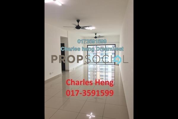 For Rent Condominium at Landmark II, Bandar Sungai Long Freehold Unfurnished 3R/2B 1k