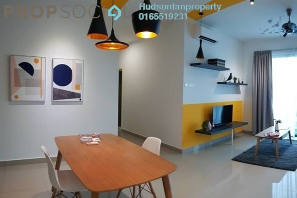 For Sale Condominium at Parkhill Residence, Bukit Jalil Freehold Semi Furnished 4R/2B 760k