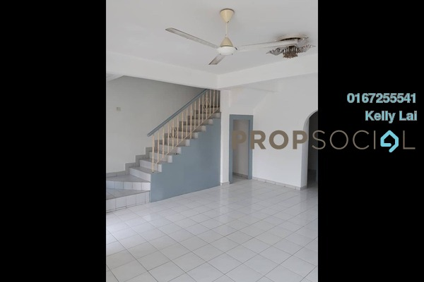 For Sale Terrace at Taman Bukit Desa, Kepong Freehold Semi Furnished 4R/3B 630k