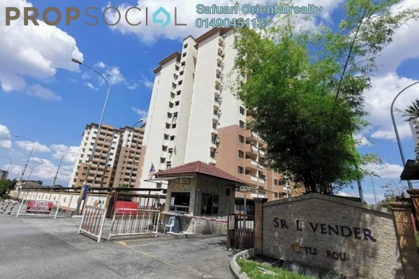 For Sale Apartment at Sri Lavender Apartment, Kajang Freehold Unfurnished 3R/2B 240k
