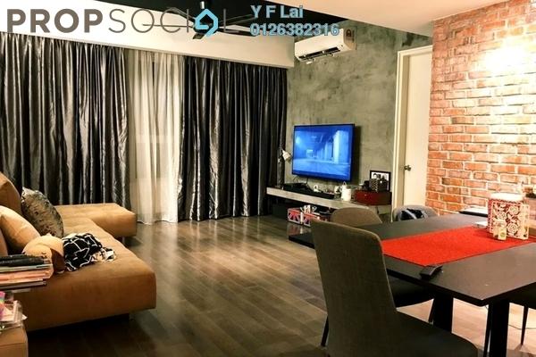 For Sale Condominium at i-Zen Kiara I, Mont Kiara Freehold Semi Furnished 3R/2B 878k