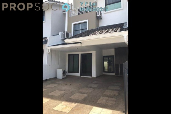 For Sale Terrace at Lake Fields, Sungai Besi Freehold Semi Furnished 4R/4B 1.05m