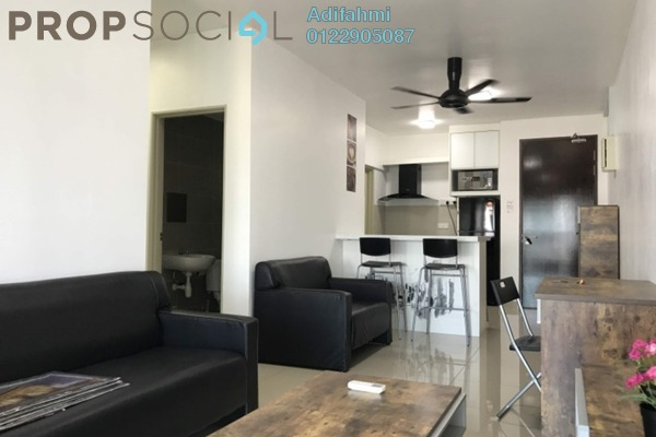 For Rent Condominium at Alam Sanjung, Shah Alam Freehold Fully Furnished 3R/2B 1.8k