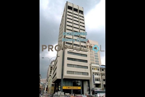 For Rent Office at Wisma Hangsam, Pudu Freehold Semi Furnished 0R/0B 6k