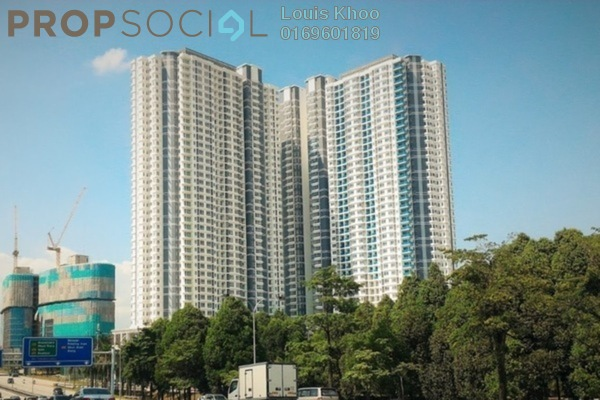 For Sale Condominium at Desa Green Serviced Apartment, Taman Desa Freehold Semi Furnished 3R/2B 580k