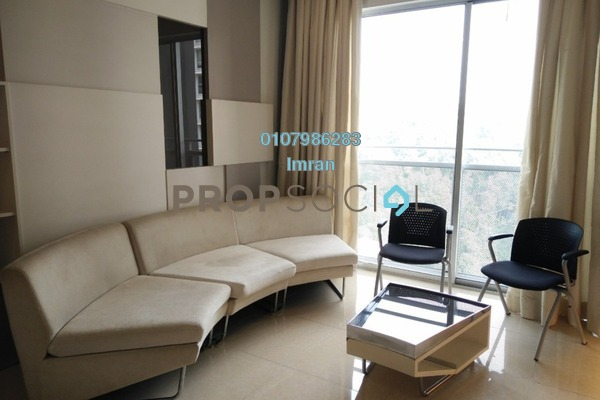 For Rent Serviced Residence at VERVE Suites, Mont Kiara Freehold Fully Furnished 2R/2B 3.4k
