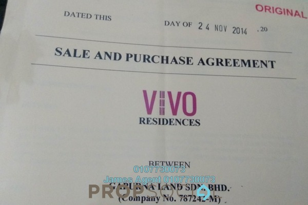 For Rent Condominium at VIVO Suites @ 9 Seputeh, Old Klang Road Freehold Semi Furnished 3R/2B 4.8k