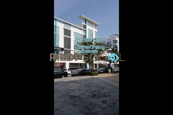For Rent Office at The Atmosphere, Bandar Putra Permai Freehold Semi Furnished 0R/2B 1.7k