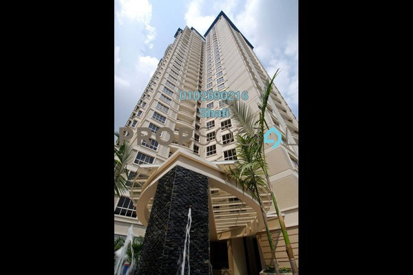 For Sale Condominium at Kiaramas Cendana, Mont Kiara Freehold Semi Furnished 3R/4B 1.28m