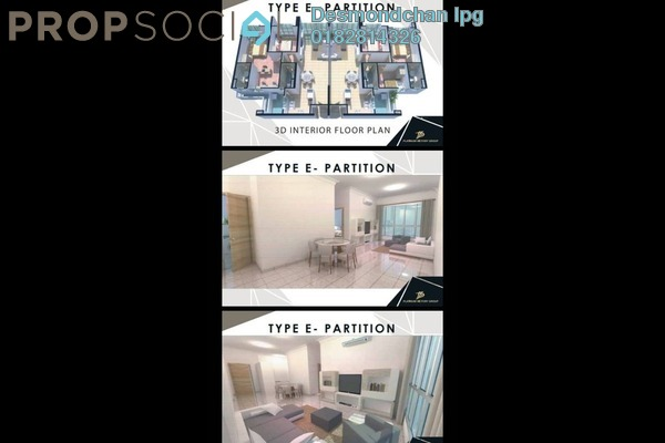 For Sale Condominium at Residensi Berlian, Setapak Freehold Semi Furnished 3R/2B 560k