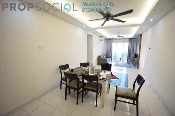 For Sale Condominium at Alam Idaman, Shah Alam Freehold Semi Furnished 3R/2B 400k