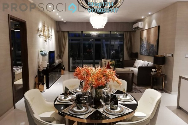 For Sale Condominium at Sri Putramas I, Dutamas Freehold Semi Furnished 3R/2B 650k