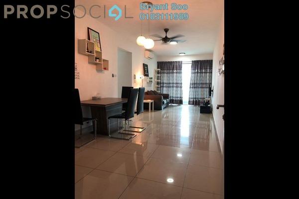 For Rent Condominium at Kiara Residence 2, Bukit Jalil Freehold Semi Furnished 3R/2B 2.4k