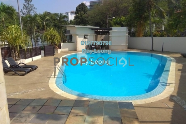 For Sale Semi-Detached at Jelutong Villa, Damansara Heights Freehold Semi Furnished 4R/4B 3.7m