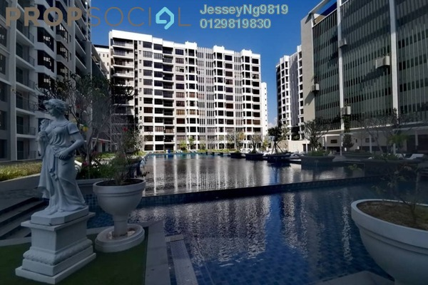 For Sale Condominium at Upper East @ Tiger Lane, Ipoh Freehold Fully Furnished 3R/2B 750k