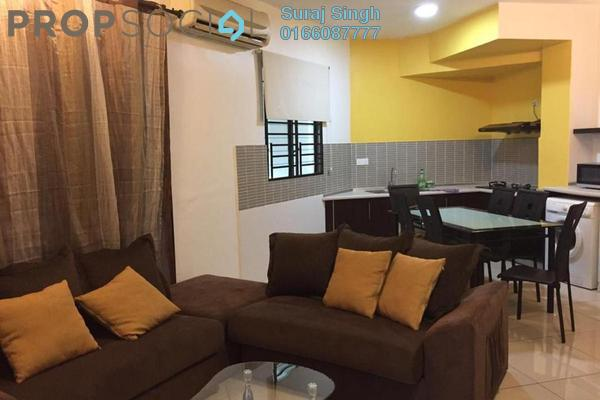 For Rent Serviced Residence at Saujana Residency, Subang Jaya Freehold Fully Furnished 2R/1B 2.7k