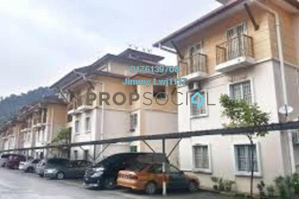 For Sale Townhouse at Andari Townvilla, Selayang Heights Freehold Semi Furnished 3R/2B 350k