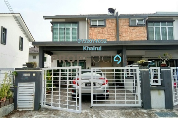 For Sale Terrace at Rafflesia @ Pelangi Semenyih 2, Semenyih Freehold Fully Furnished 4R/3B 540k