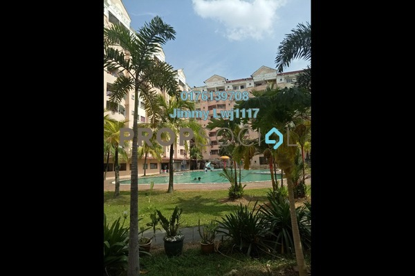 For Sale Apartment at Perdana Villa Apartment, Klang Freehold Semi Furnished 3R/2B 238k