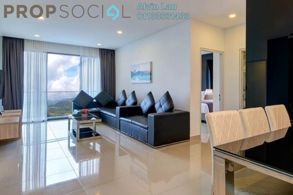 For Sale Serviced Residence at Ion Delemen, Genting Highlands Freehold Fully Furnished 2R/1B 825k