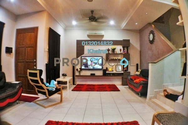 For Sale Terrace at Alam Budiman, Shah Alam Freehold Semi Furnished 4R/3B 575k