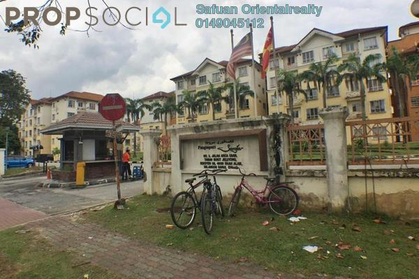 For Sale Apartment at Seroja Apartment, Bukit Jelutong Freehold Unfurnished 3R/2B 310k