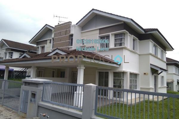 For Sale Semi-Detached at Taman Tasik Semenyih, Semenyih Leasehold Semi Furnished 5R/3B 435k